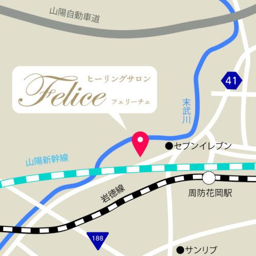 フェリーチェ地図